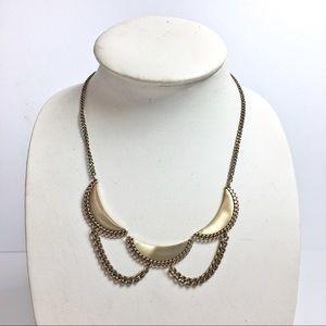 Jewelry - Brass statement necklace